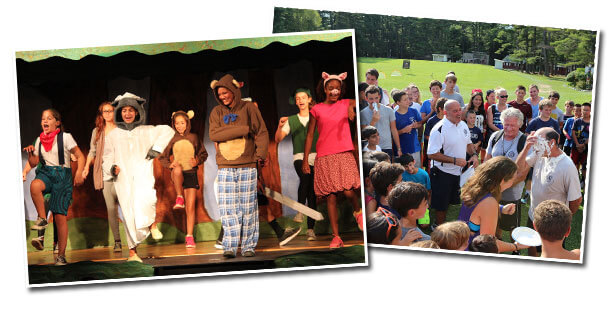 Summer camp activities